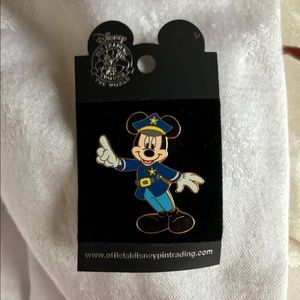 Official Disney police officer pin